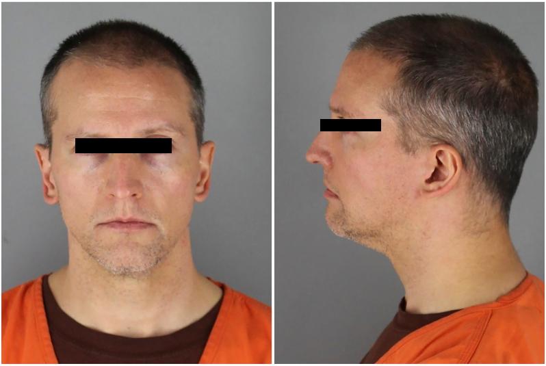 Derek Chauvin el policía que asesinó a George Floyd es recluido en prisión