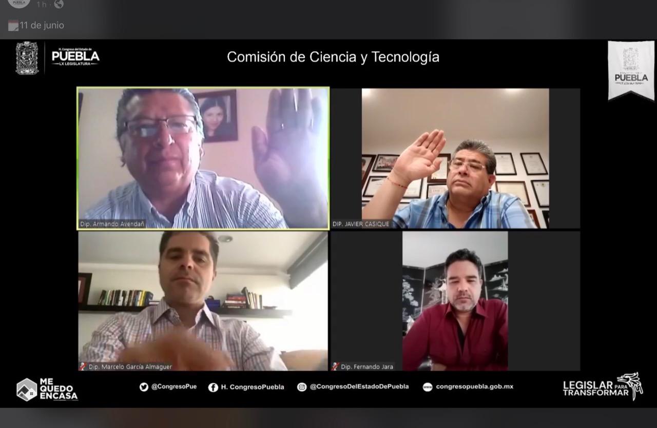 """LX Legislatura aprueba en Comisión, la convocatoria para otorgar la presea estatal de ciencia y tecnología """"Luis Rivera Terrazas"""""""