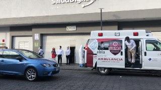 Fallece hombre al interior de una laboratorio clínico en Puebla