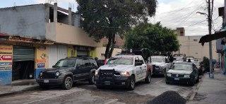 SSP realiza operativo en la '46 Poniente', encuentran droga y autopartes robadas