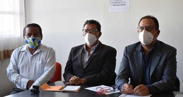 Pobladores de San Francisco Totimehuacán en contra de una empresa que contamina