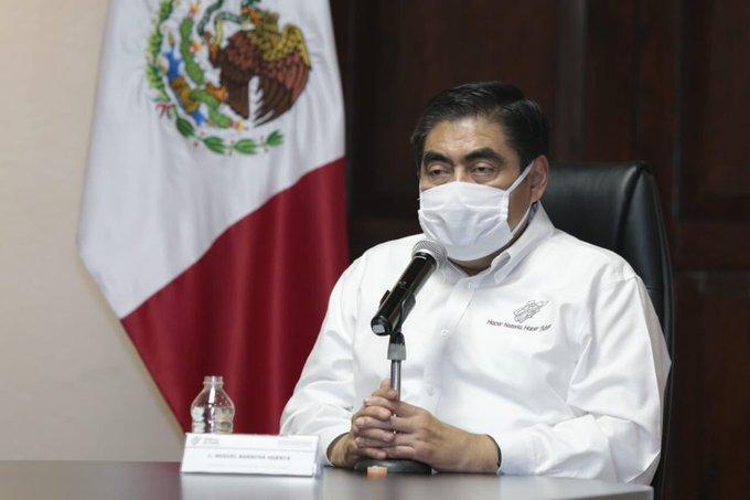 Con 201 casos nuevos de COVID-19, Puebla sigue con semáforo rojo