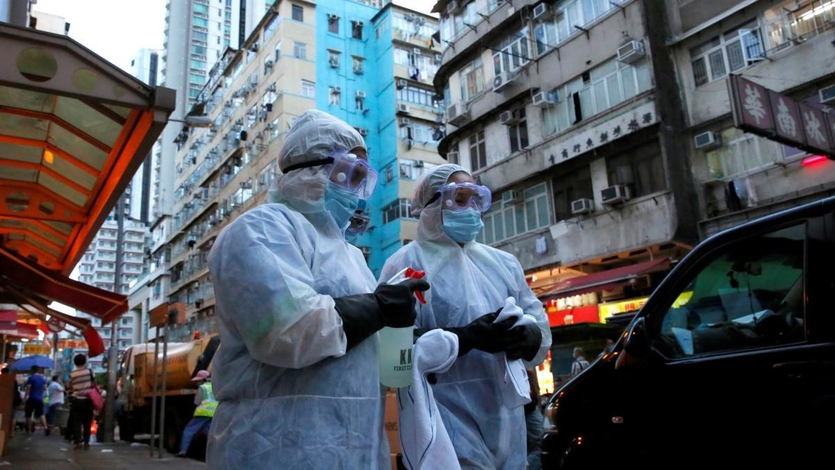 Rebrote de COVID-19 en Hong Kong alerta a Gobierno