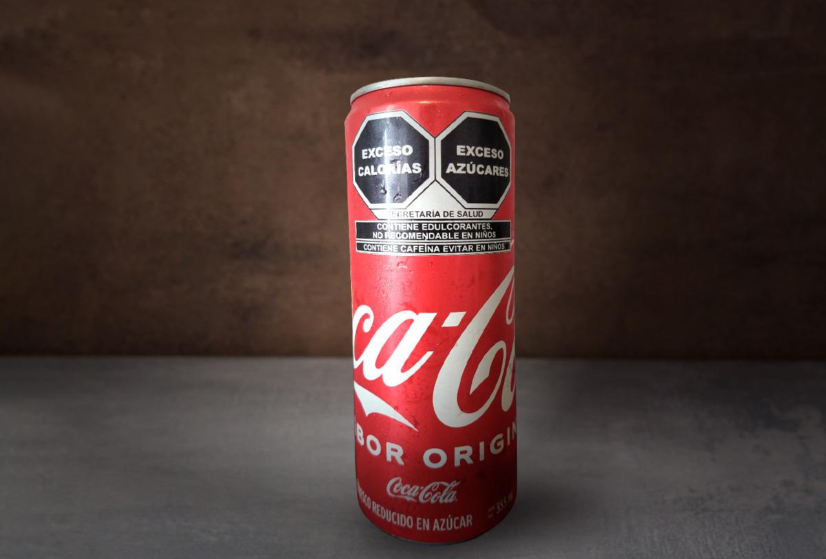 Coca Cola VS el nuevo etiquetado