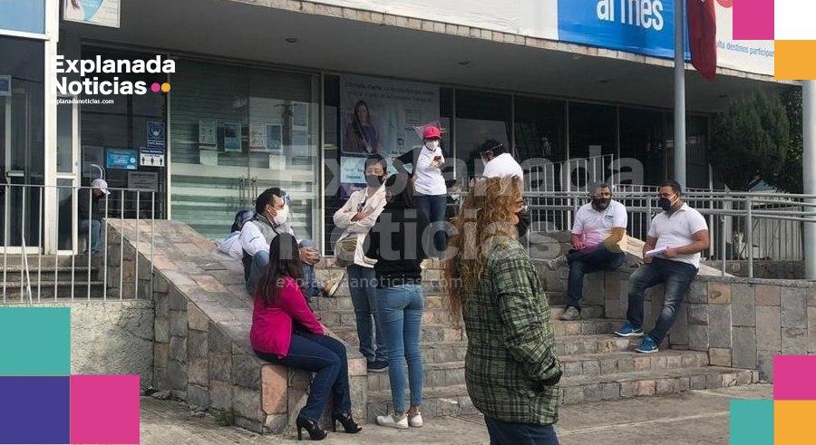 Trabajadores de Telmex realizan paro nacional exigiendo el derecho a una jubilación