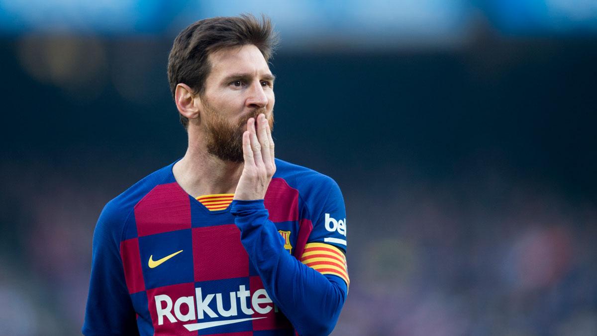 Messi confirma que terminará su contrato con el Barcelona hasta 2021