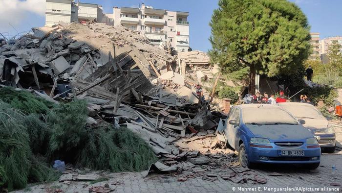 Terremoto de 7.0 sacude a  Grecia y Turquía