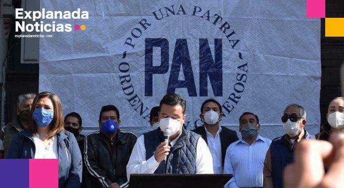 Califica PAN municipal como dos años perdidos de gobierno, la administración de Claudia Rivera