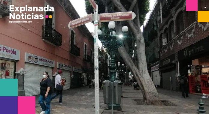 Empresa encargada obras del corredor 5 de Mayo carece de permisos: Barbosa
