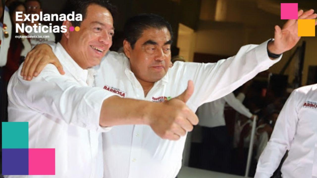 Celebra Barbosa triunfo de Mario Delgado al frente de Morena