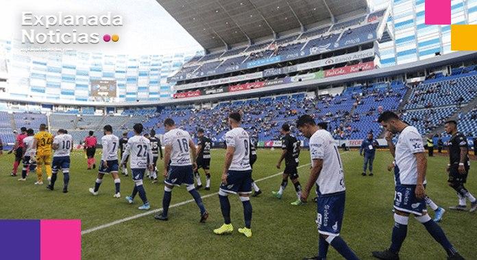Aficionados del Puebla podrían presenciar partidos este mes: Barbosa