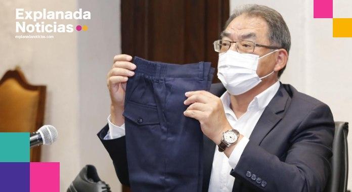 Uniformes de calidad entrega del Gobierno: Barbosa