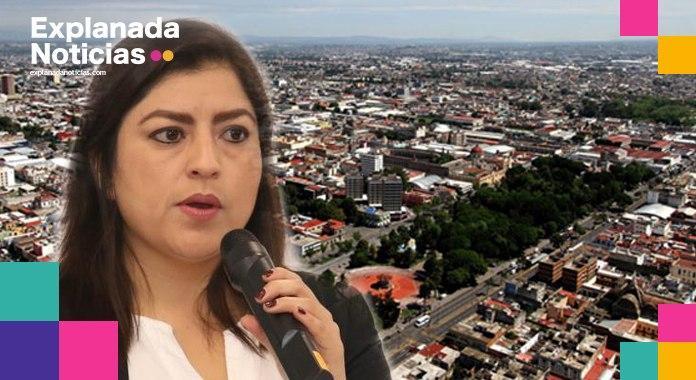 Claudia Rivera no hace obra pública para las juntas auxiliares, pero sí destina 12 mdp para pavimentar la calle de su casa