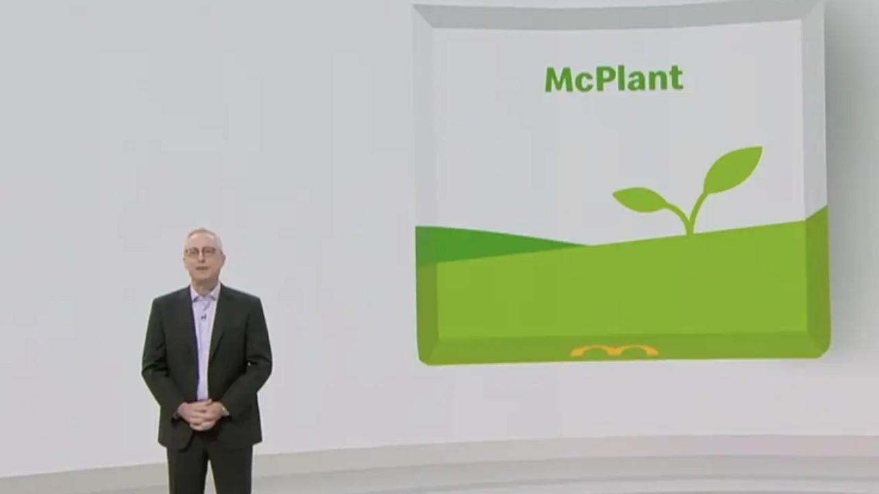 McPlant la primera hamburguesa a base de plantas de McDonald's