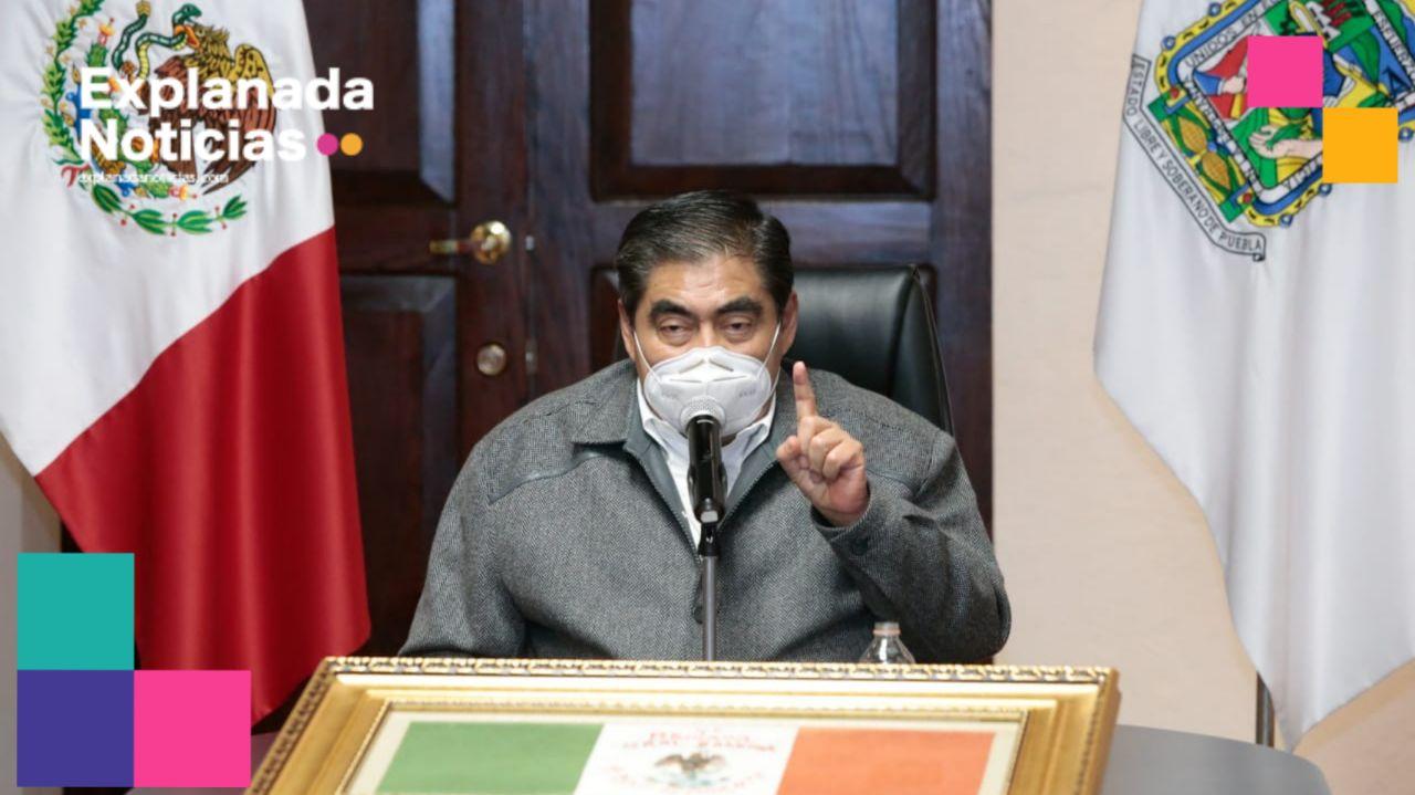En Puebla se respetará la ley electoral: Barbosa a adelantados para el 2021