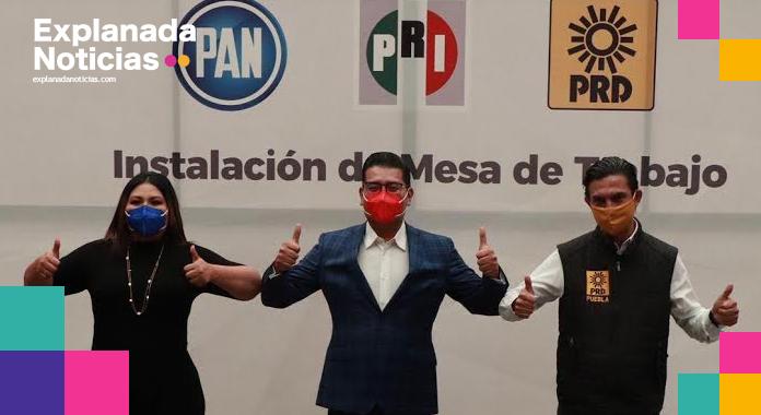 PAN, PRI y PRD se olvidan de insultos mutuos y hoy regresan como hermanos para las elecciones 2021