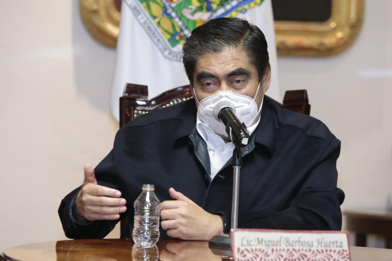 Seremos implacables ante la venta ilegal de vacunas: Barbosa