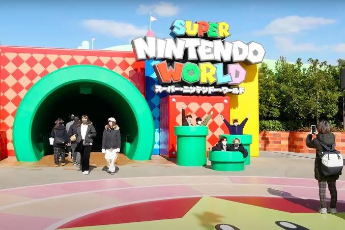 Así luce el Super Nintendo World