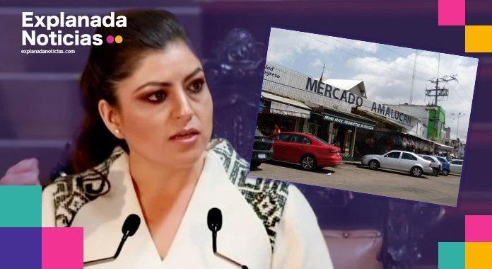 Pese a inconformidad de locatarios, administración del Claudia Rivera amenaza con demoler el inmueble