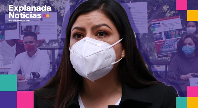 """Para acallar críticas, Claudia Rivera crea """"Frente Ciudadano contra Campañas Negras"""", sin apoyo ciudadano"""