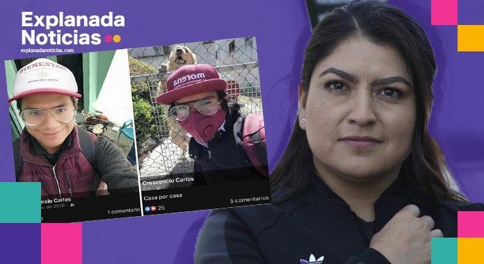 Claudia Rivera se beneficia de personal que manejaba programas de bienestar, para promoción de su campaña