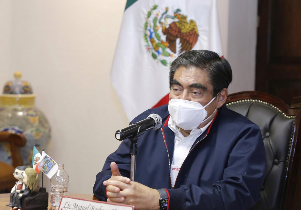 Habrá una nueva estrategia de Seguridad en Puebla: Barbosa