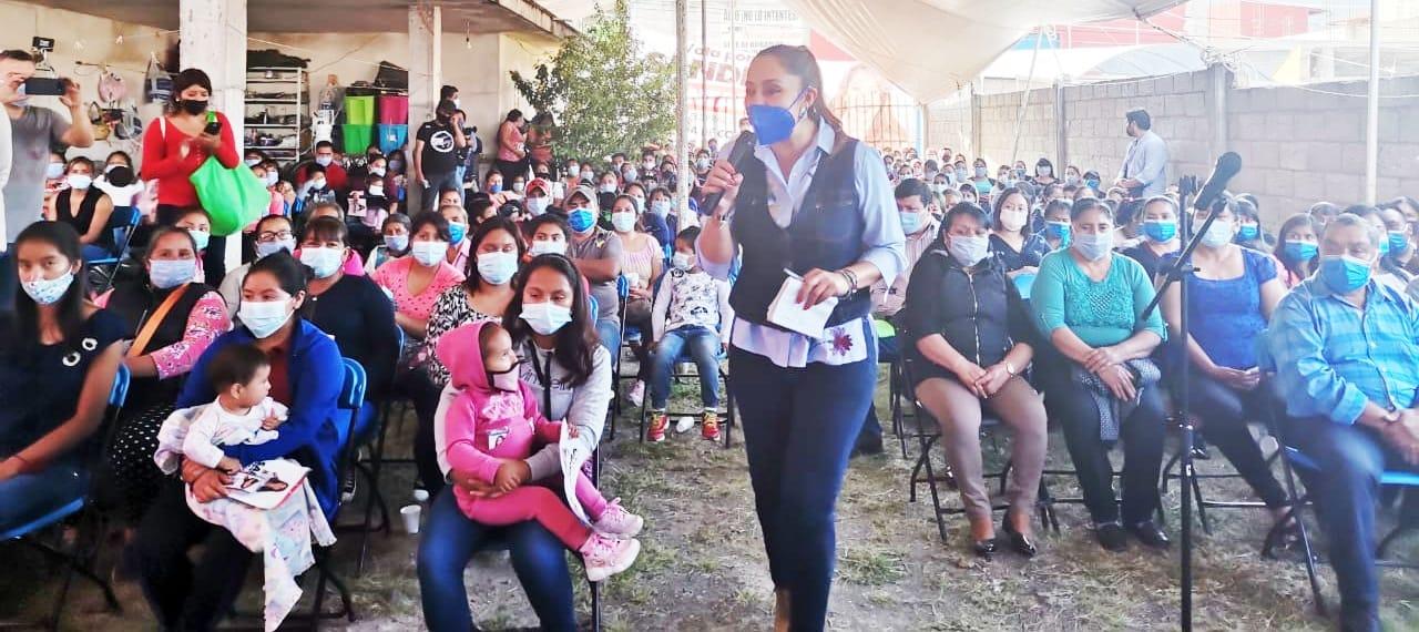 Justicia social y jurídica para chignautla: Sandra Montalvo Domínguez