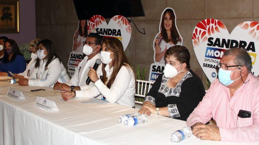Sandra Montalvo comprometida a trabajar por México desde el Congreso de la Unión