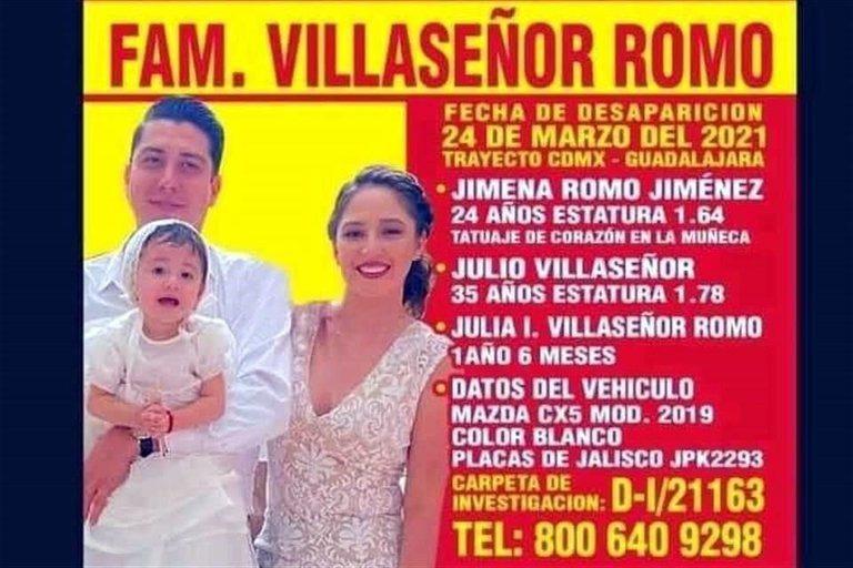 Localizan a todos los miembros de familia desaparecida en Jalisco