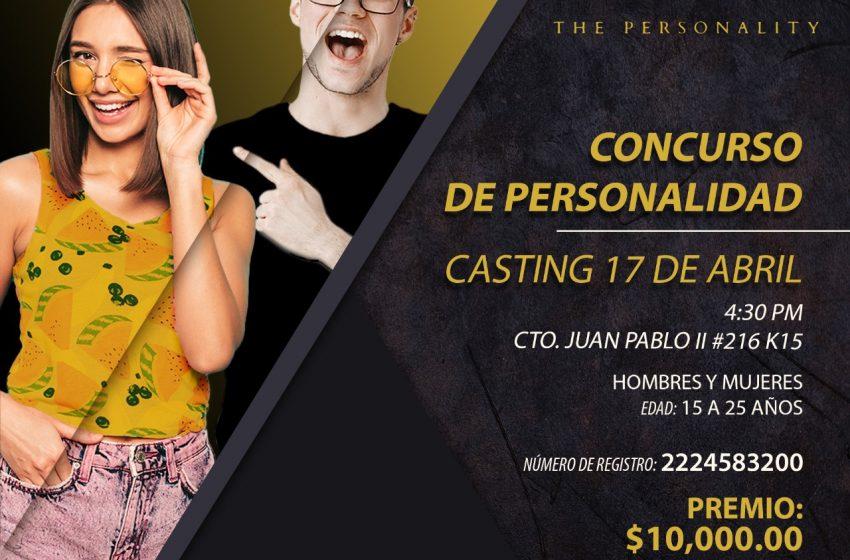 Liz Escalante te invita a participar en el primer concurso de personalidad en Puebla