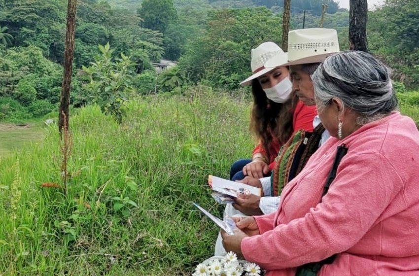 Sandra Montalvo promete progreso y desarrollo en Cuetzalan