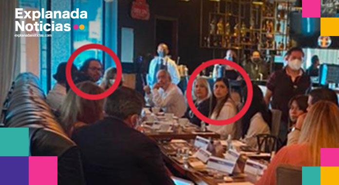 Pese a que campañas inician el 4 de mayo, Claudia Rivera ya sostiene reuniones con empresarios para pedir su voto