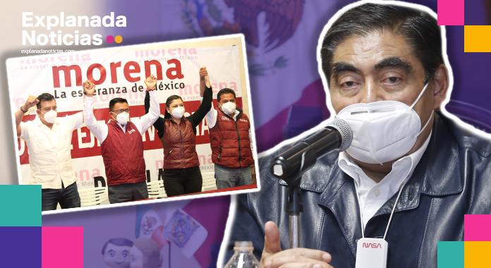 Ya vendrá el tiempo de que todo se reponga para bien, Barbosa sobre reunión con candidatos de Morena