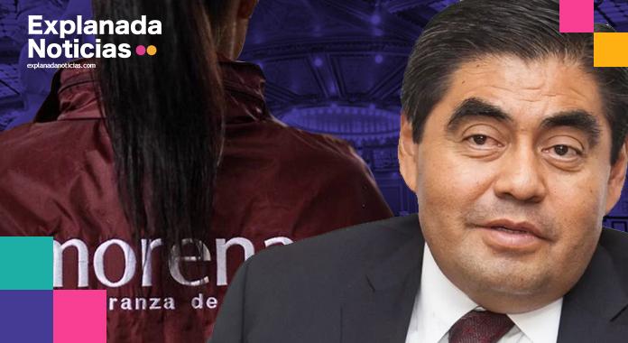 De la lista de candidatos a diputados locales por Morena, 19 de 26 son afines al gobernador Miguel Barbosa