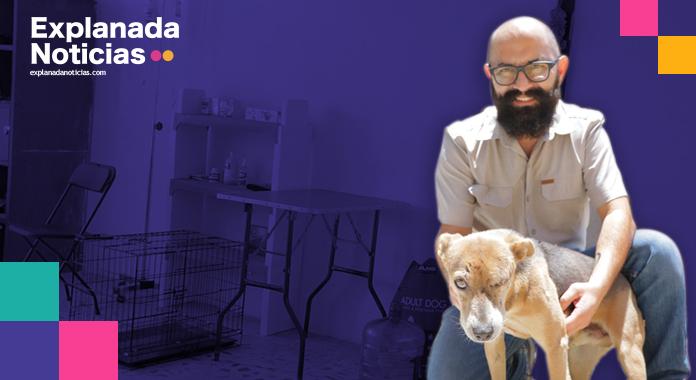 Activista Poblano crea la primera clínica gratuita para perros de la calle a nivel nacional