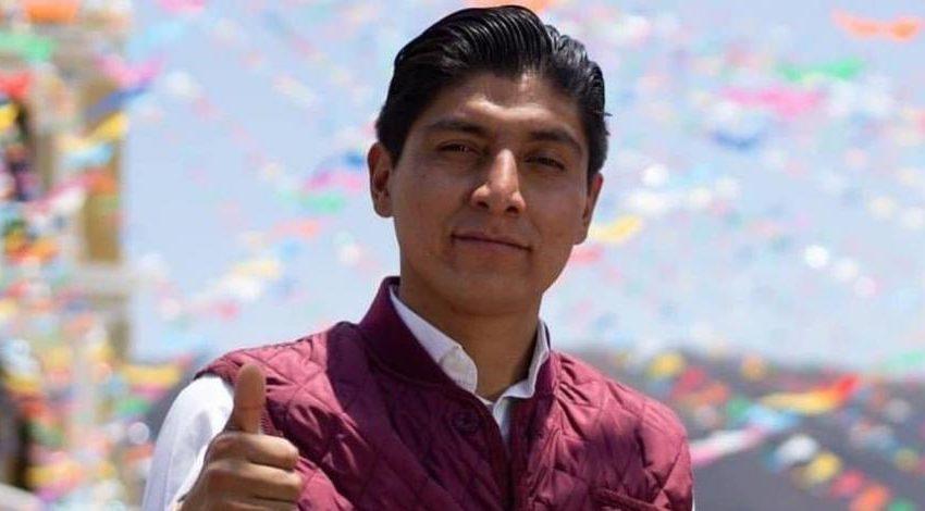 Balean a candidato de Morena la alcaldía de Ocoyucan