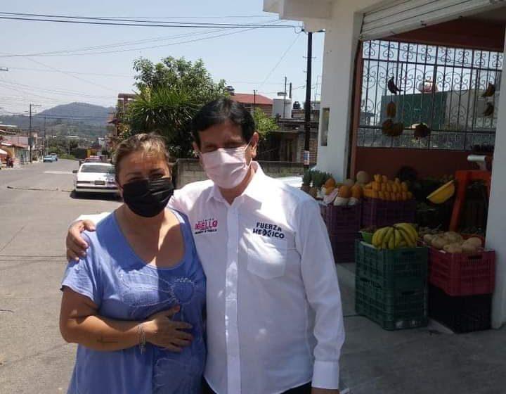 """Los vecinos de Jardines de Teziutlán, respaldan el proyecto del """"Químico Bello"""""""