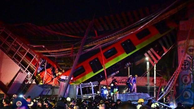 Tragedia en el metro con saldo de 24 muertos y 79 heridos