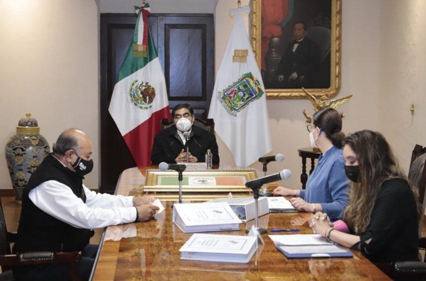 Protegerá Barbosa patrimonio cultural de Puebla; denuncia 5 mil piezas perdidas