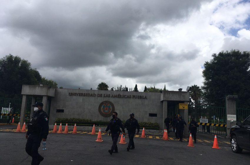 Por mandato federal fue el operativo en la UDLAP: Barbosa