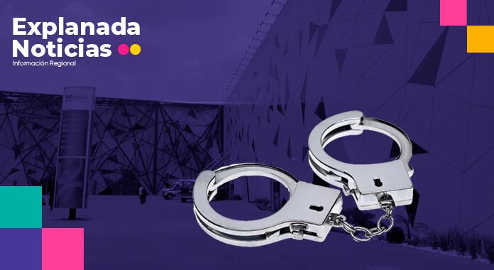 Anuncia Barbosa detención de tres exfuncionarios por corrupción en el Centro Expositor