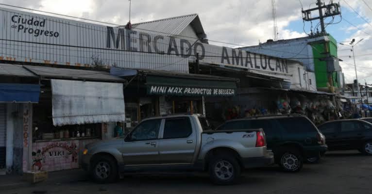 Locatarios inconformes de Amalucan culpan a Claudia Rivera de sus bajas ventas ante la presencia de elementos de la SSC