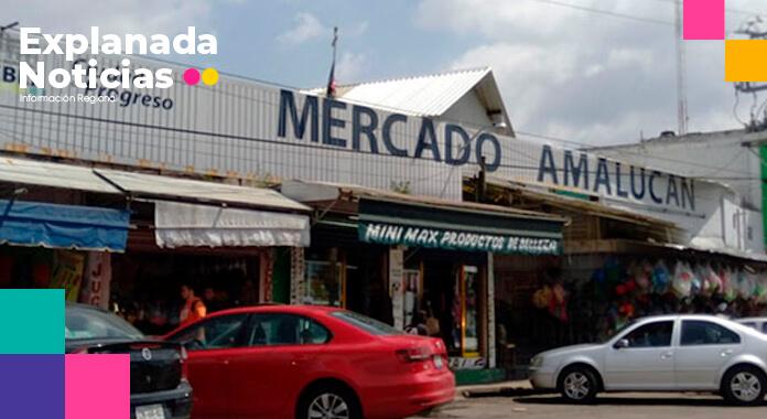 Eduardo Rivera dialogará con locatarios del mercado Amalucan para evitar que se pierdan los recursos asignados