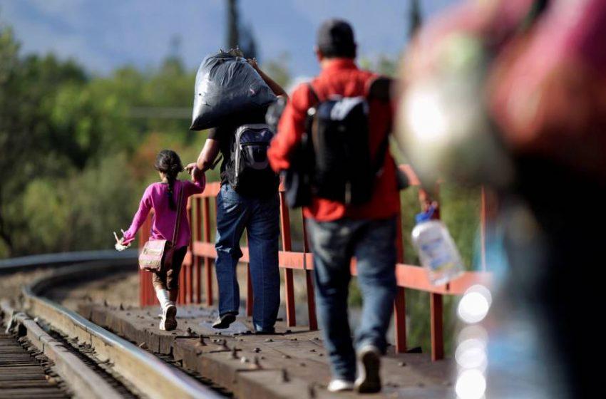 186 migrantes fueron rescatados de un inmueble en San Sebastian de Aparicio