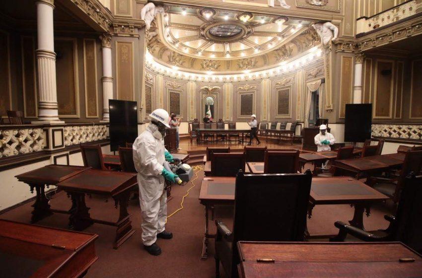 Descarta Congreso del Estado brote de COVID-19 al interior del Poder Legislativo