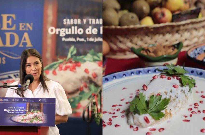 El Chile en Nogada cumple 200 años y se festejará en grande