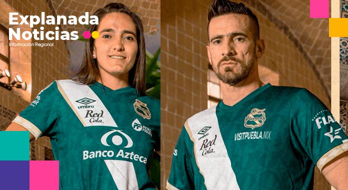 """Puebla F.C. estrena jersey edición """"Chiles en Nogada"""""""