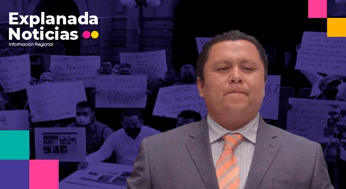Trabajadores del Ayuntamiento acusan a Gonzalo Juárez de desvío de recursos y enriquecimiento ilícito