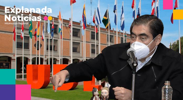 Este Gobierno no se presta a ninguna componenda, dice Barbosa sobre conflicto de la UDLAP
