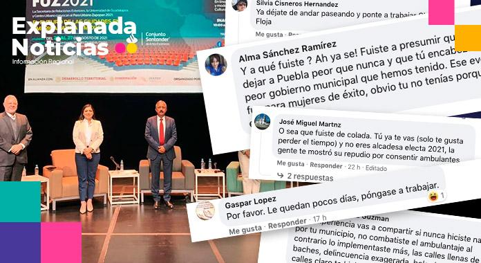 En horario laboral, Claudia Rivera prefiere pasearse por la CDMX y Jalisco para hacer turismo político